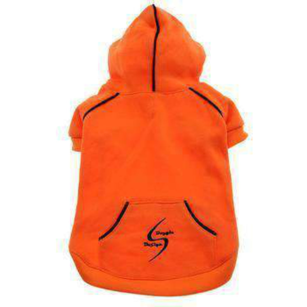 Sport Dog Hoodie by Doggie Design Pet Clothes Doggie Design Orange X-Small