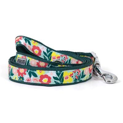 "Spring Bouquet Collar & Lead Collection Collars and Leads Worthy Dog SM 5/8"" Lead"