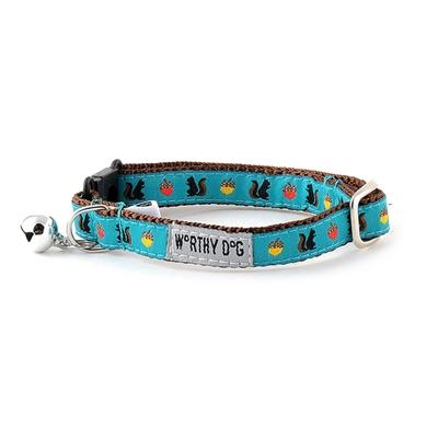 Squirrelly Cat Collar Collars and Leads Worthy Dog