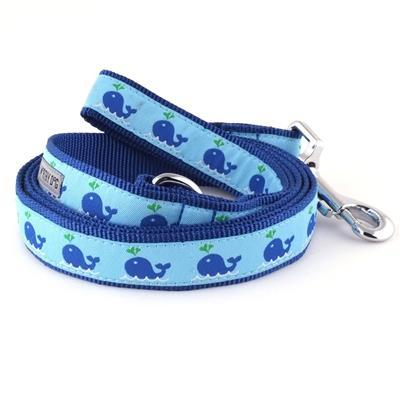 "Squirt Whale Collar & Lead Collection Collars and Leads Worthy Dog SM 5/8"" Lead"