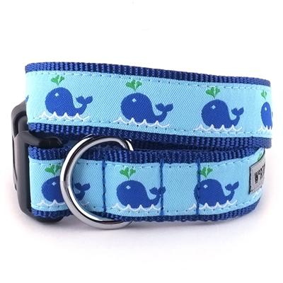 Squirt Whale Collar & Lead Collection Collars and Leads Worthy Dog XS Dog Collar