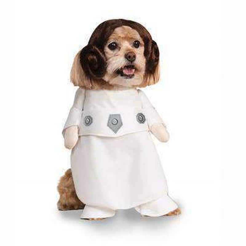 Star Wars Princess Leia Dog Halloween Costume Furbabeez