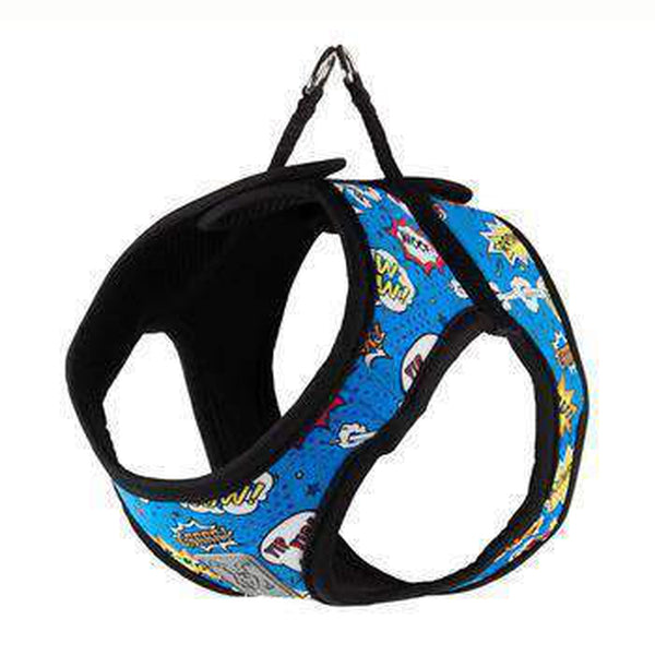 Step-in Cirque Dog Harness - Comic Sounds, Collars and Leads, Furbabeez, [tag]