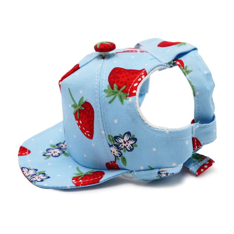 Strawberry Dog Hat Pet Accessories DOGO