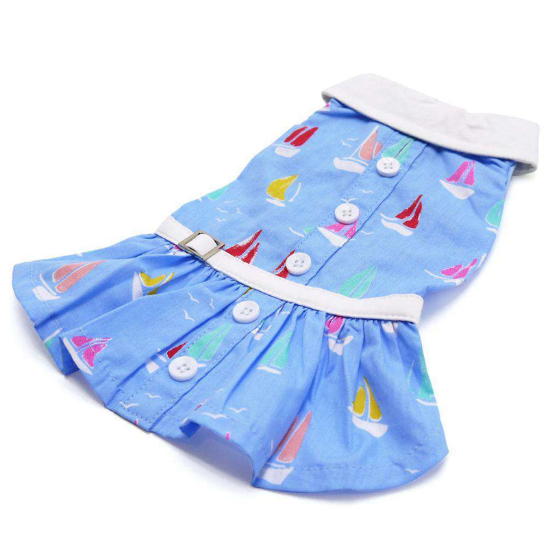 Summer Beach Dog Dress, Pet Clothes, Furbabeez, [tag]