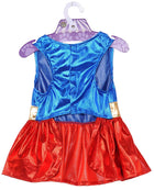 Supergirl Dog Halloween Costume, Pet Clothes, Furbabeez, [tag]