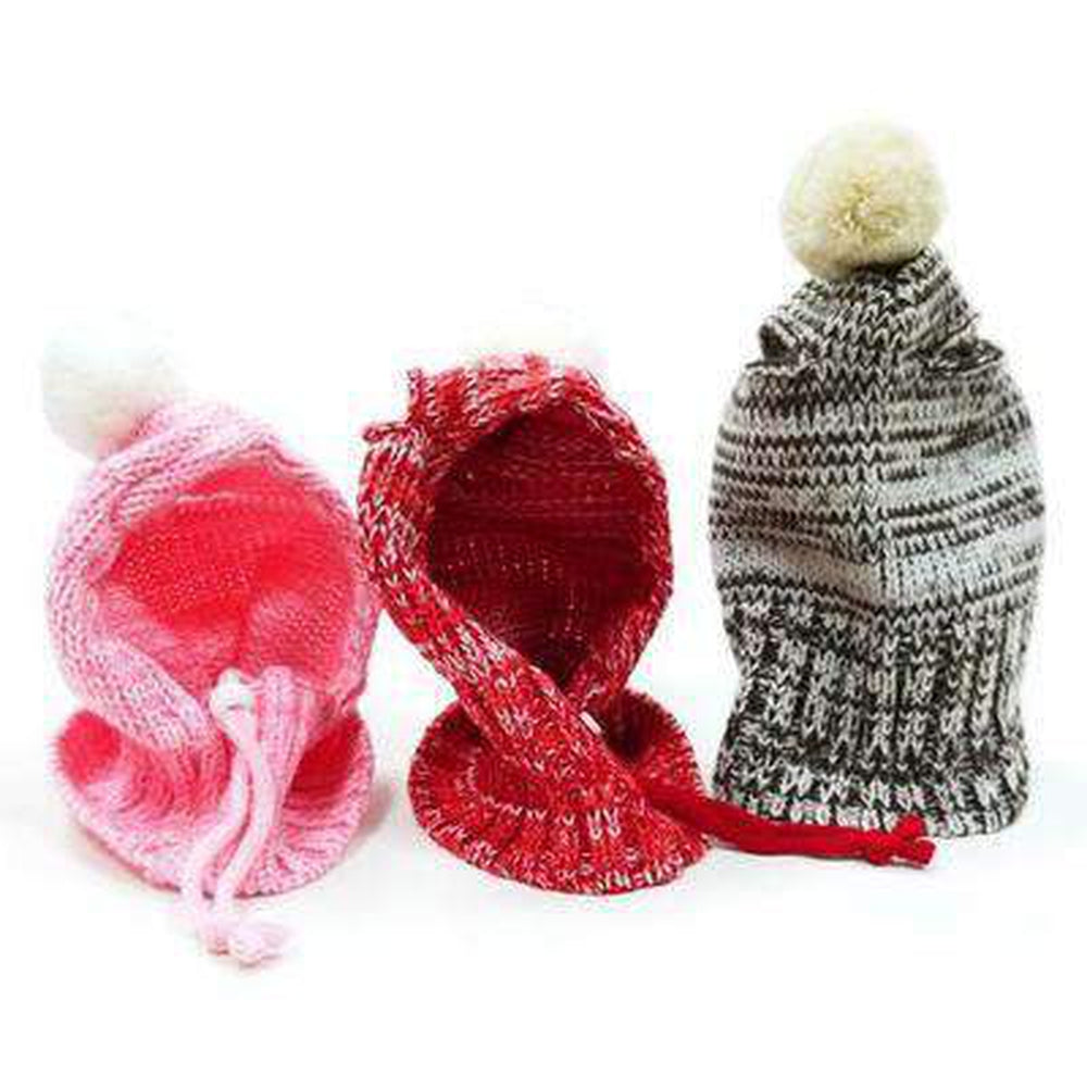 Pom Sweater Dog Hat Pet Accessories DOGO