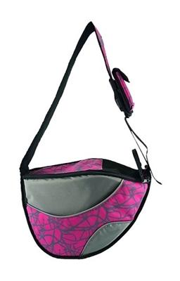 The Messenger Carrier Dog Bag Pet Accessories One for Pets Pink