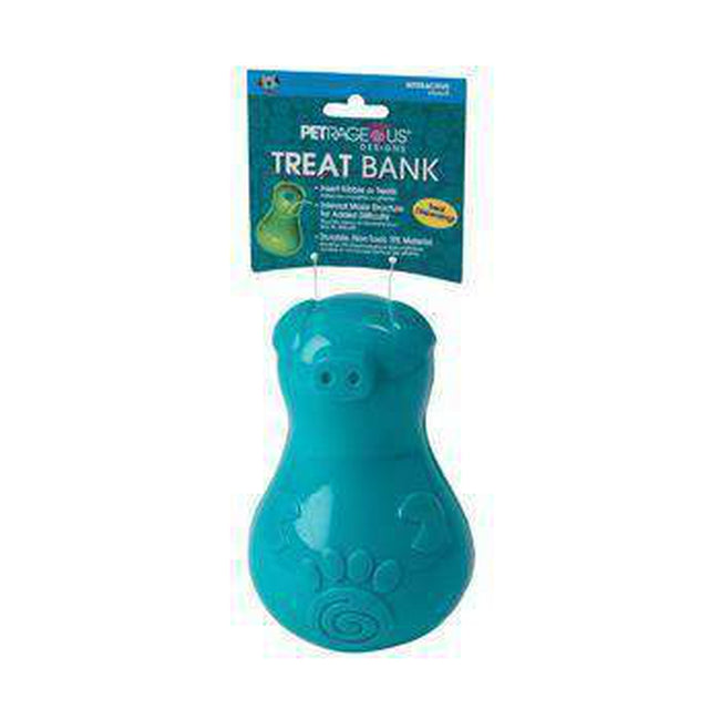 ThinkRageous Dog Treat Bank - Aqua, Pet Toys, Furbabeez, [tag]