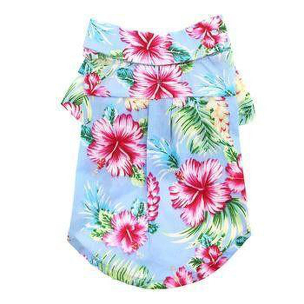 Tropical Island Dog Shirt by Dogo, Pet Clothes, Furbabeez, [tag]