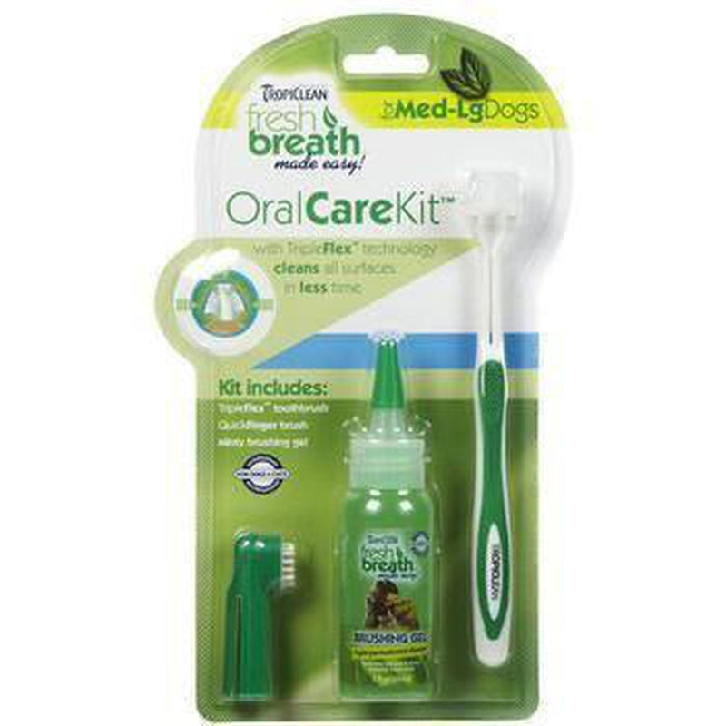 Tropiclean Fresh Breath Pet Oral Care Kit, Pet Accessories, Furbabeez, [tag]