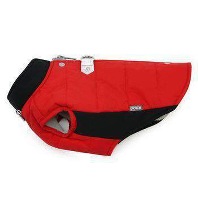 Runner Dog Coat - Red, Pet Clothes, Furbabeez, [tag]