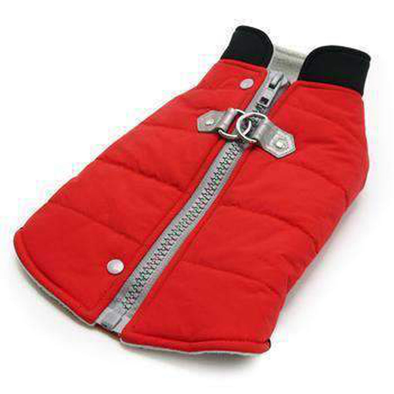 Urban Runner Dog Coat - Red Pet Clothes DOGO