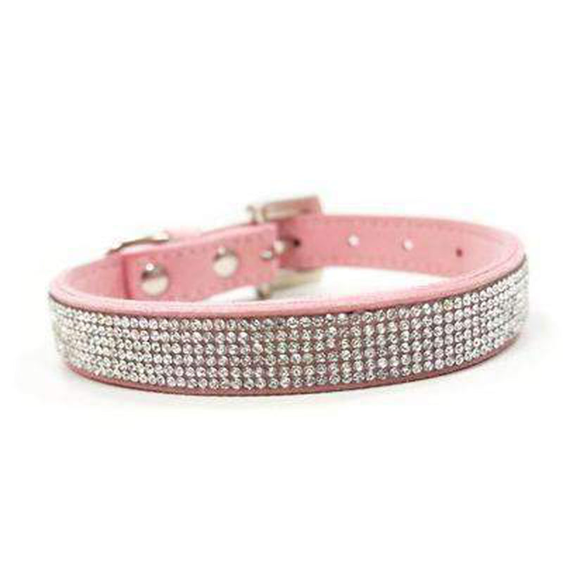 VIP Bling Collar Collars and Leads DOGO Pink X-Small