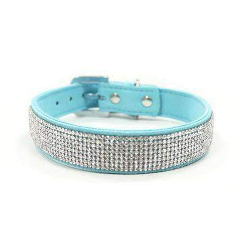 VIP Bling Collar Collars and Leads DOGO Turquoise X-Small