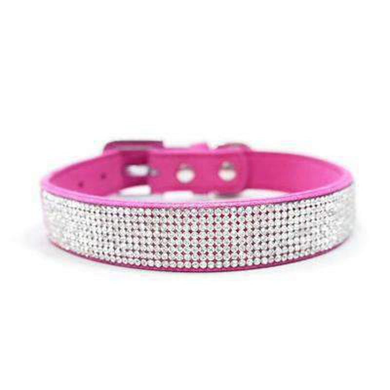 VIP Bling Collar Collars and Leads DOGO Raspberry X-Small