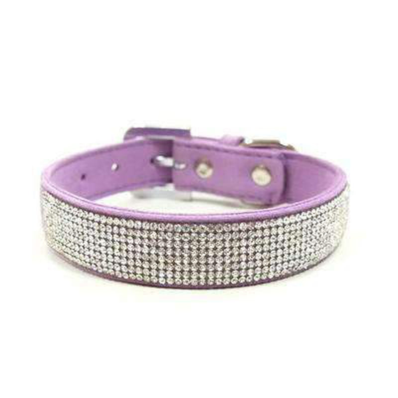 VIP Bling Collar Collars and Leads DOGO Purple X-Small