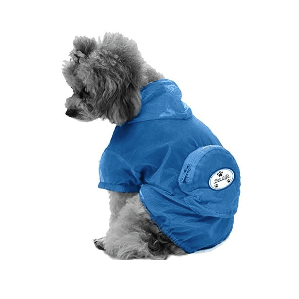 Waterproof Adjustable Travel Dog Raincoat Pet Clothes Pet Life