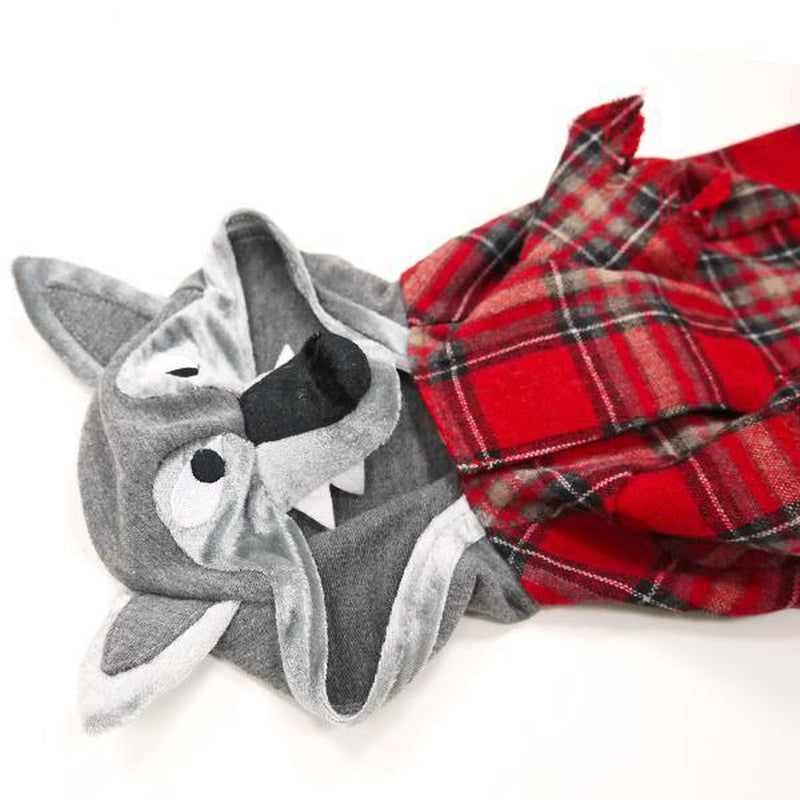 Werewolf Plaid Shirt, Pet Clothes, Furbabeez, [tag]