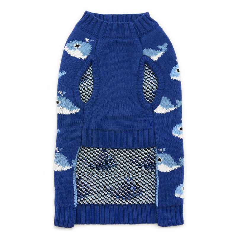 Whale Dog Sweater, Pet Clothes, Furbabeez, [tag]