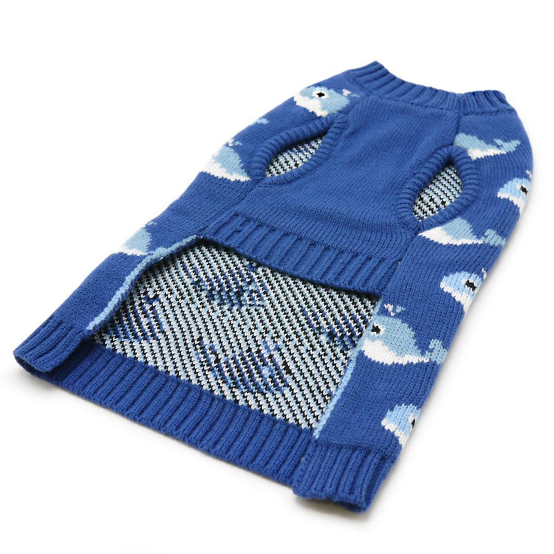 Whale Dog Sweater Pet Clothes DOGO