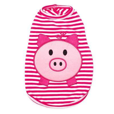Wilbur Pig Dog Tee Pet Clothes Worthy Dog