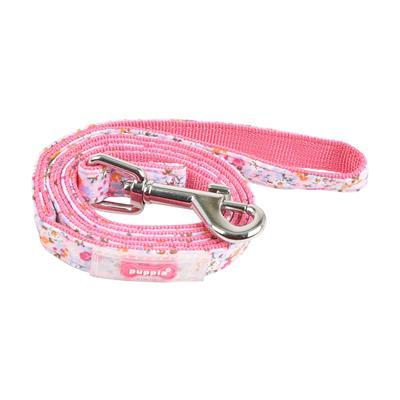Wildflower Lead Collars and Leads Puppia Medium Pink