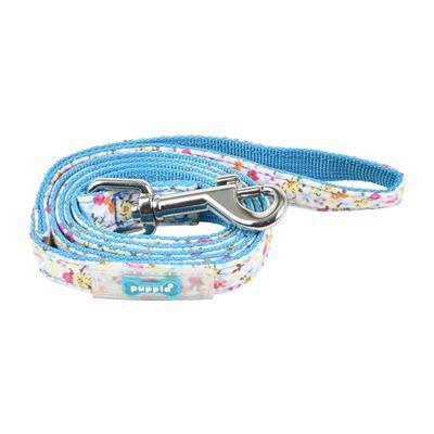 Wildflower Lead Collars and Leads Puppia Medium Turquoise