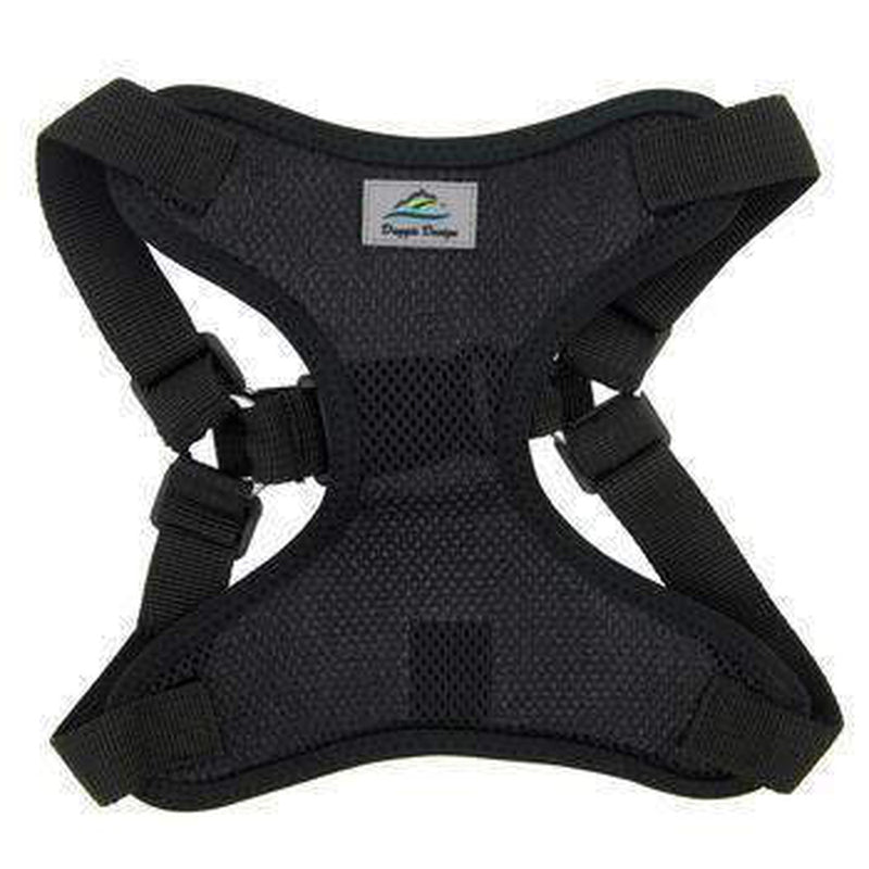 Wrap and Snap Choke Free Dog Harness - Black, Collars and Leads, Furbabeez, [tag]
