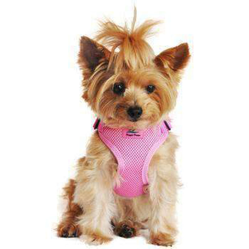 Wrap and Snap Choke Free Dog Harness - Candy Pink Collars and Leads Doggie Design