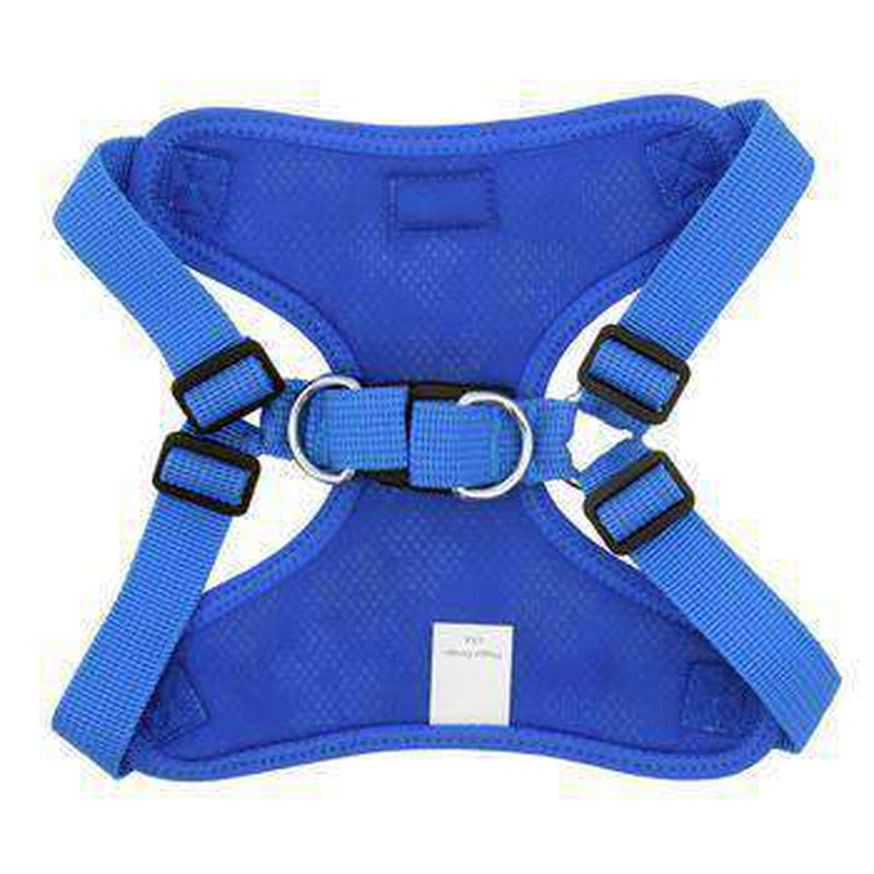 Wrap and Snap Choke Free Dog Harness - Cobalt Blue Collars and Leads Doggie Design