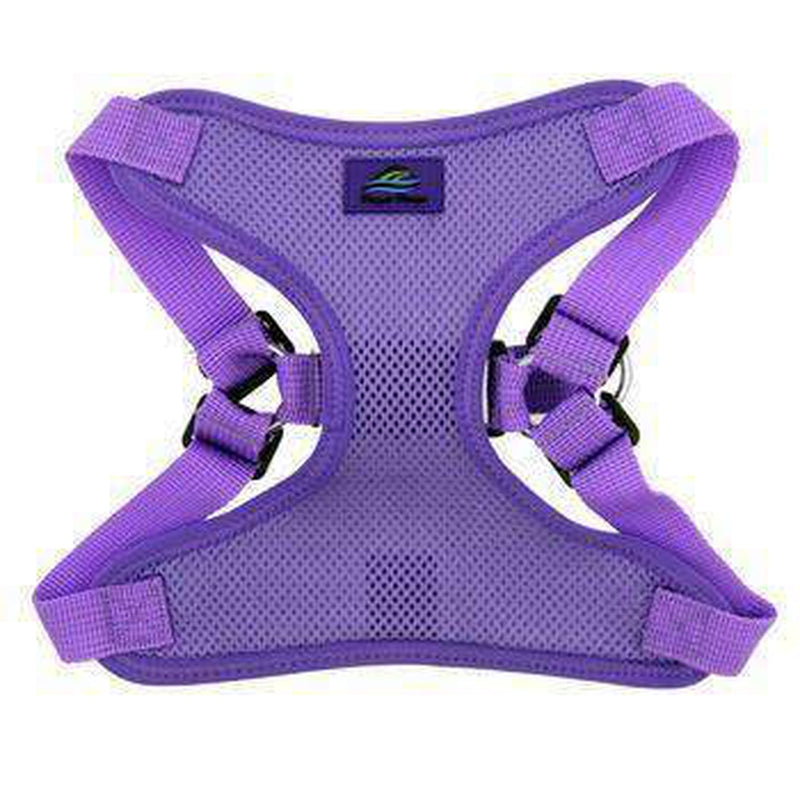 Wrap and Snap Choke Free Dog Harness - Paisley Purple, Collars and Leads, Furbabeez, [tag]
