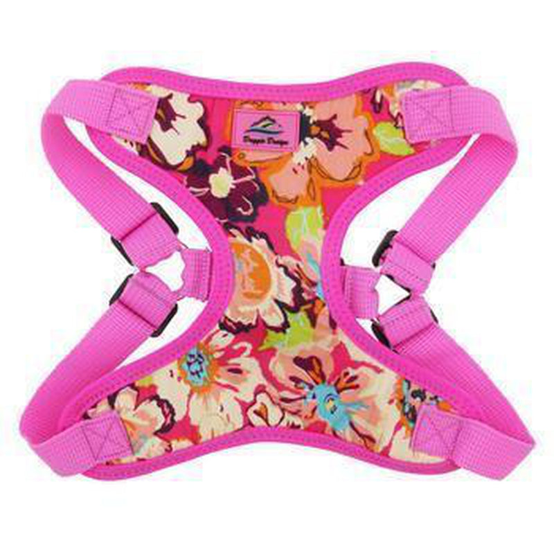 Wrap and Snap Choke Free Dog Harness - Aruba Raspberry, Collars and Leads, Furbabeez, [tag]