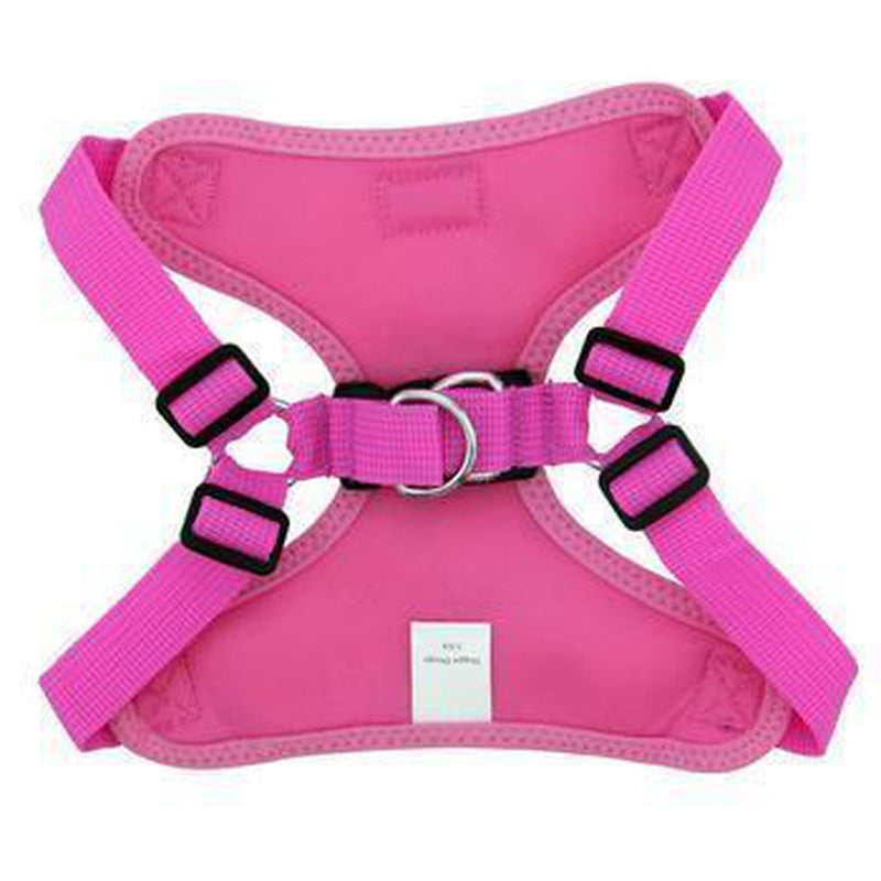 Wrap and Snap Choke Free Dog Harness - Aruba Raspberry Collars and Leads Doggie Design