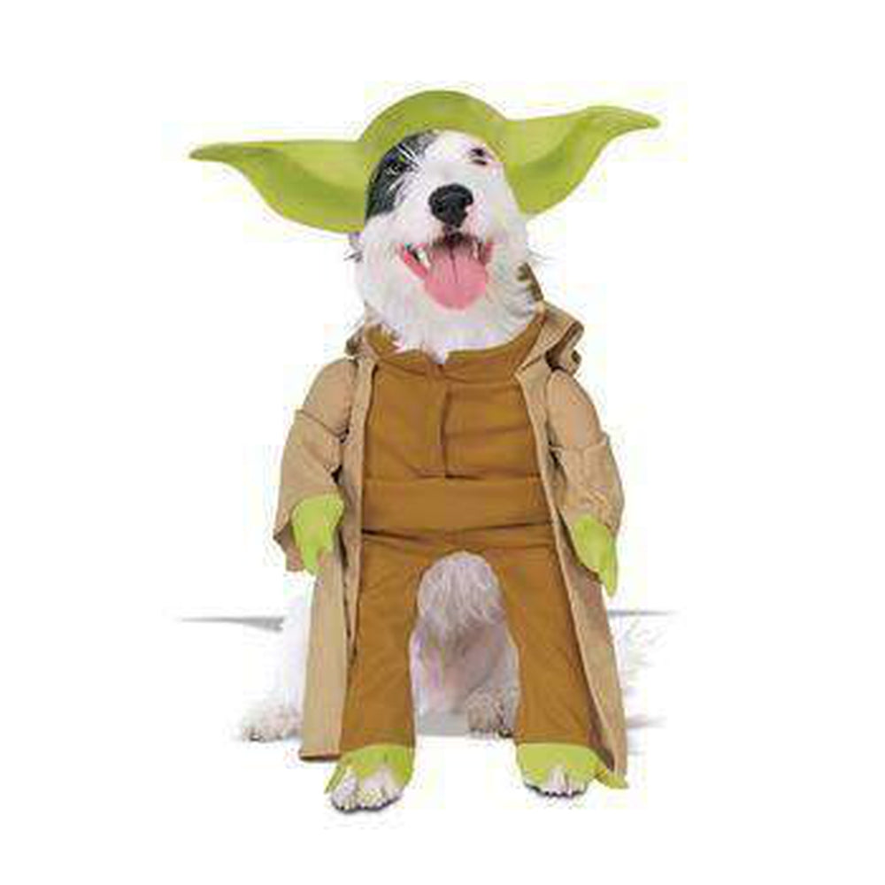 Star Wars Yoda Dog Halloween Costume Pet Clothes Rubie's Costumes