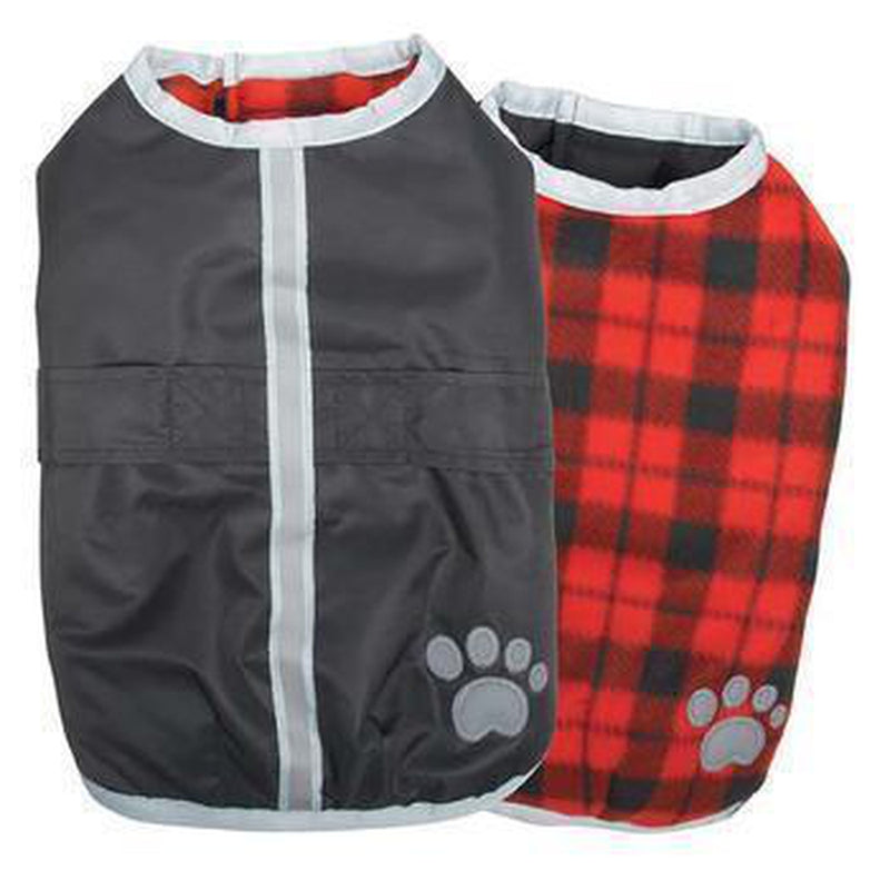Zack and Zoey Nor'easter Dog Blanket Coat - Black Pet Clothes Zack and Zoey
