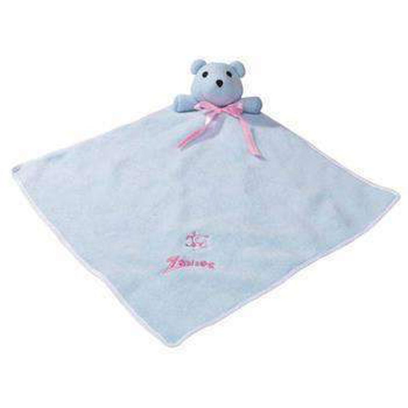 Zanies Snuggle Bear Puppy Blanket Pet Bed Zanies Blue