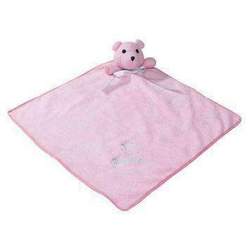 Zanies Snuggle Bear Puppy Blanket Pet Bed Zanies Pink