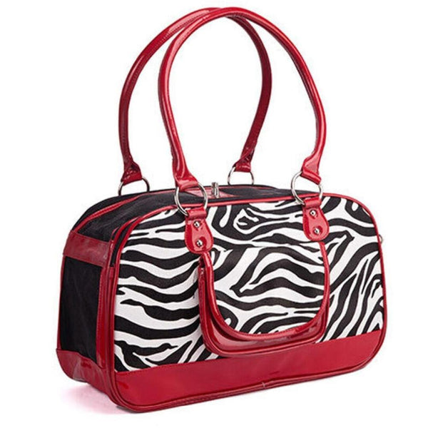 Zazzy Zebra Pet Travel Carrier Pet Accessories Oberlo