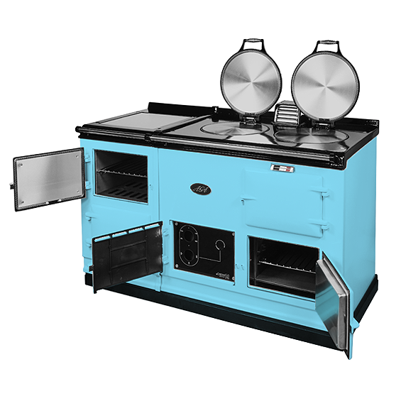 Aga eControl 4 oven blue West Country Cookers