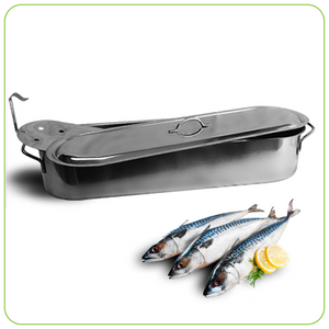 FISH KETTLE - STAINLESS STEEL