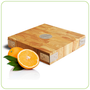 PROFESSIONAL WOODEN CHOPPING BLOCK - SQUARE