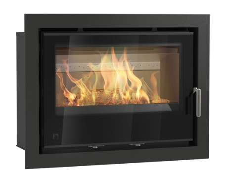 Aarrow i750 - Inset, Solid Fuel, 8.9kW