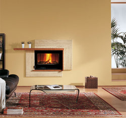 La Nordica Focolare 80 Idro Crystal DSA - WOOD BURNING ONLY, 18.6KW
