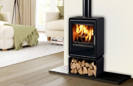 Henley Orion 400 5Kw Freestanding Roomheater Stove Glass finish External Air