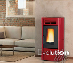 Extraflame Terry Plus 12.1kW Pellet stove with Ducting