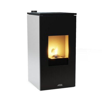 ARTEL - MODEL FUTURA 9  - WOOD PELLET - 9KW - RED/BLACK/WHITE