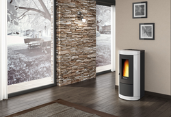 Extraflame Mietta -Airtight Pellet Stove, Free Standing, 8.0 kW