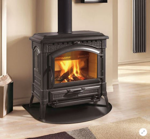 La Nordica Extraflame- Termolsotta DSA, Wood Burning, Red/White  19.1kW