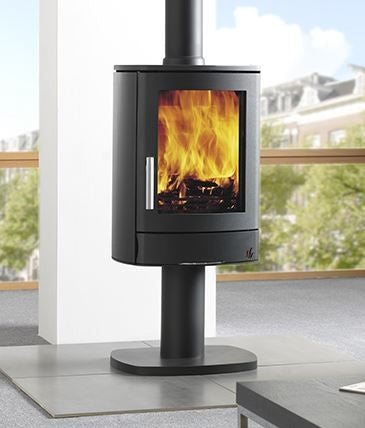 ACR Neo 1P - Non-Boiler Stove, Free Standing, Solid Fuel, 5 Kw, Matt, Black, External Air